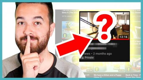 Reacting to a secret video I never posted...