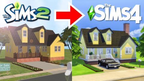 Fixing my Terrible Sims 2 Build - Random Pack Challenge!