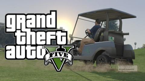 GTA 5 with TheGeeNee - #18 - Caddy Race with a Movie Star