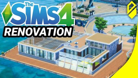 Renovating Windenburg Pool - Bathe de Rill (Sims 4)