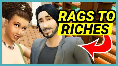 Canoe comes to visit!  -🌴 Rags to Riches (Part 18)