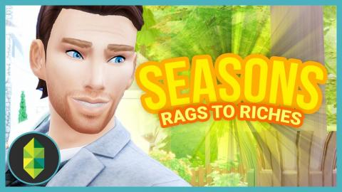 NEW CHARACTER - Part 20 - Rags to Riches (Sims 4 Seasons)