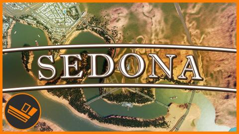 Sedona - Part 33 | DOWNTOWN LAYOUT (Cities: Skylines)