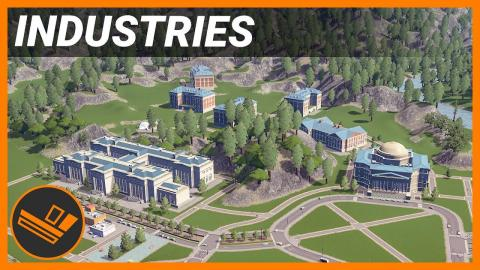 Build a brand new University Campus! - INDUSTRIES (Part 42)