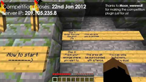 Win Skyrim or MW3 - Minecraft Building Competition (Closes 22.1.12)