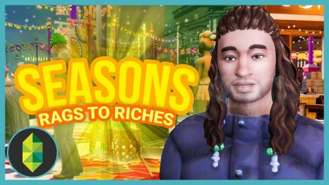 WE HAVE WALLS - Part 7 - Rags to Riches (Sims 4 Seasons)