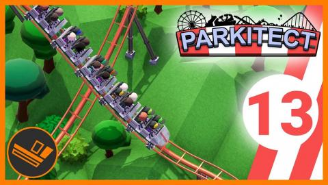 Building a Steel Coaster - Parkitect (Part 13)