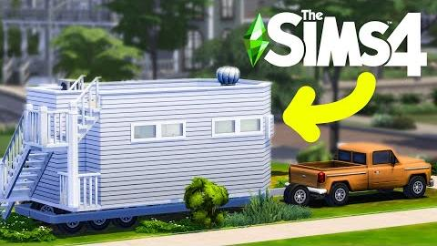Tiny Living MICRO Home Challenge (32 Tiles) for THREE SIMS!
