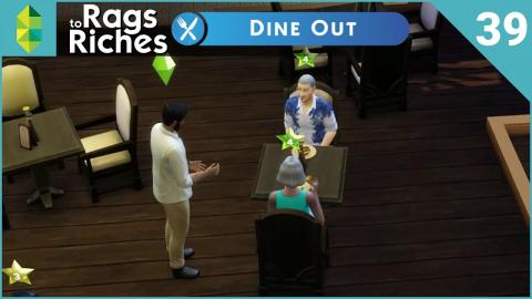 The Sims 4 Dine Out - Rags to Riches - Part 39
