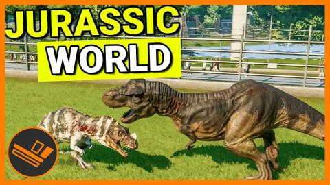 T-REX FIGHTS - Jurassic World Evolution Part 9