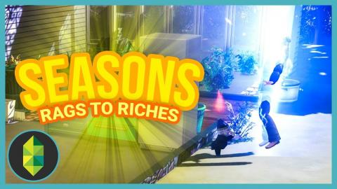 WINTER - Part 5 - Rags to Riches (Sims 4 Seasons)