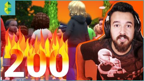 200 TODDLERS!? | You won't BELIEVE what happens at 199!