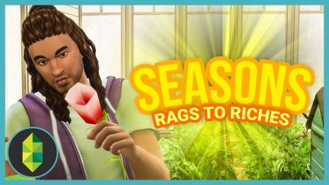 RAGGY'S FIRST EASTER - Part 6 - Rags to Riches (Sims 4 Seasons)