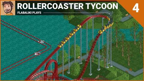Let's Play - RollerCoaster Tycoon (Part 4)