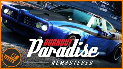 My Favourite Driving Game! BURNOUT PARADISE!