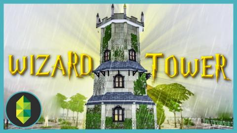 WIZARD'S TOWER - The Sims 4 Build