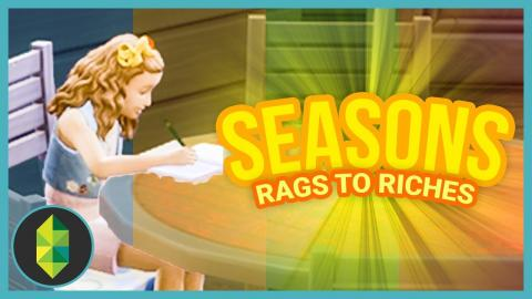 NEW CLOTHES - Part 16 - Rags to Riches (Sims 4 Seasons)
