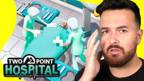 It's time to operate, what could go wrong? (Two Point Hospital)
