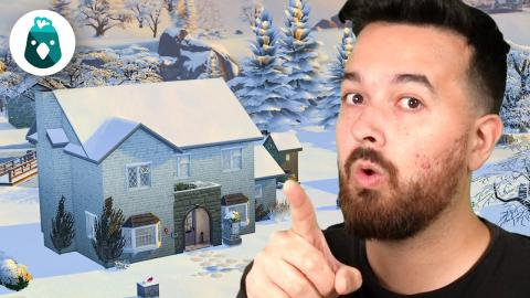 It's winter time on the farm! The Sims 4 Cottage Living (Part 17)