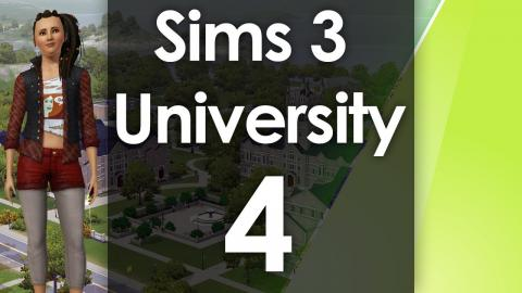 Let's Play The Sims 3 - University Life - Part 4