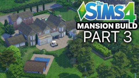 The Sims 4 - MANSION BUILD - Part 3 (Kitchen)
