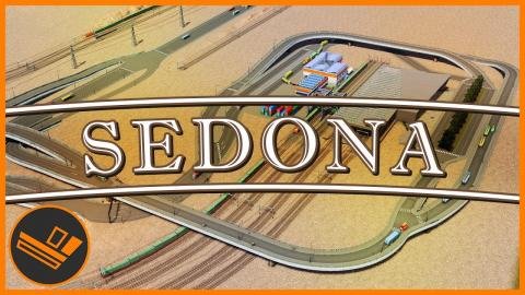 Sedona - Part 60 | TRAIN EXCHANGE (Cities: Skylines)