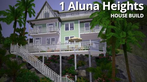 The Sims 3 House Building - 1 Aluna Heights - Aluna Island
