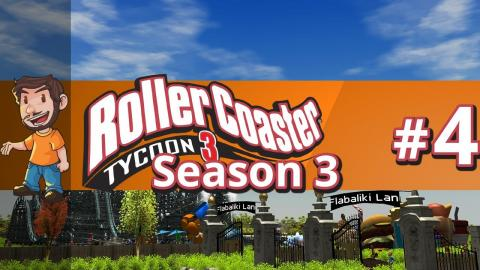 Let's Play Rollercoaster Tycoon 3 - Part 4 Season 3