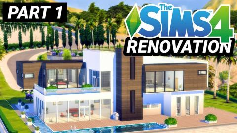 Renovating Thorne Bailey's House in Sims - Part 1