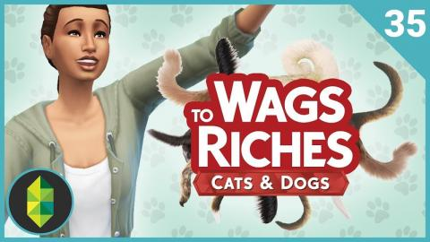 Wags to Riches - Part 35 (Sims 4 Cats & Dogs)