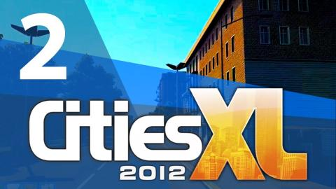 Let's Play Cities XL 2012 - Part 2