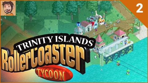 RollerCoaster Tycoon - Trinity Islands (Part 2)