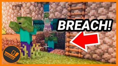 Zombies have breached the town wall! - Minecraft (Part 3)