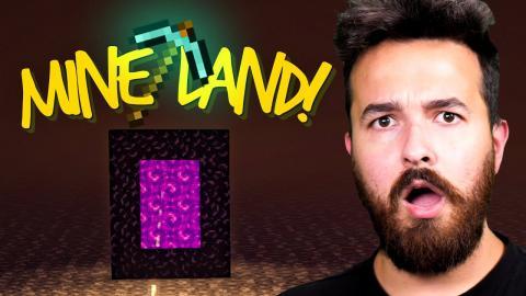 We are heading to Mine Land! - Minecraft 1.16 (Part 18)