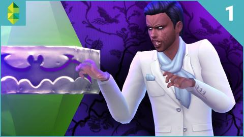The Sims 4 Vampires - Part 1 | Becoming a Vampire
