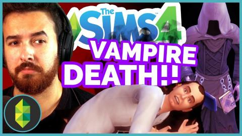 Vampire DEATH! - The Sims 4