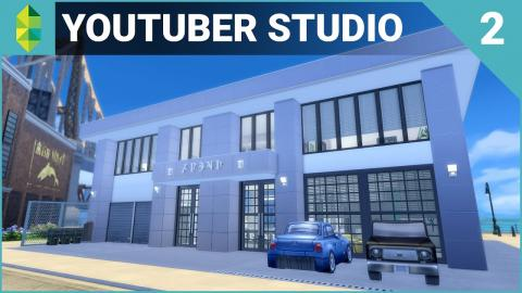 The Sims 4 Building - YouTuber & Streamer Studio (Part 2)