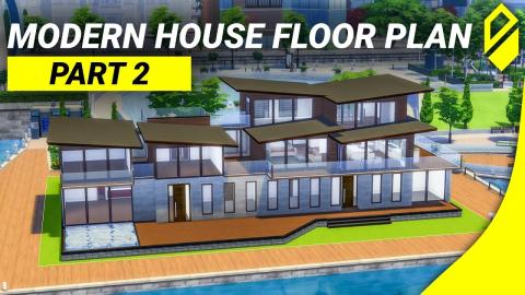 Modern House Floor Plan - Part 2