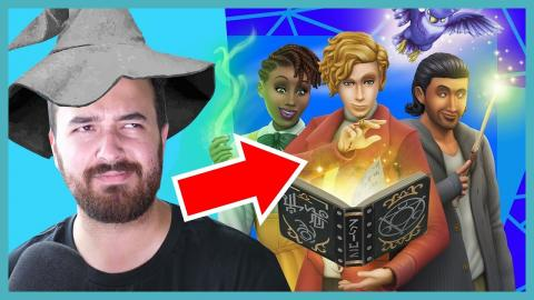 The Sims 4 Realm of Magic Reaction!