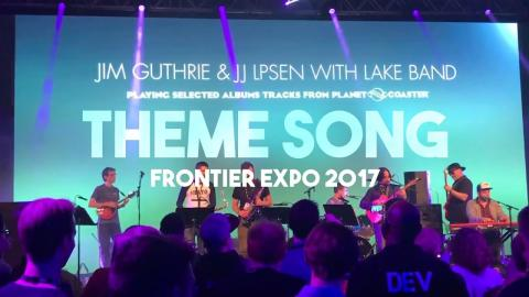 Planet Coaster Theme Song LIVE - The Light In Us All (Frontier Expo 2017)