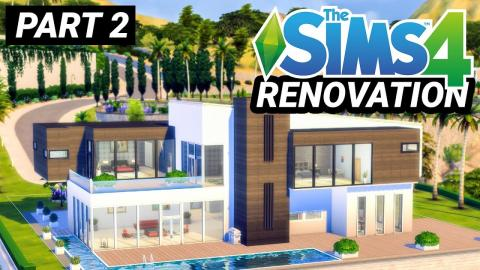 Renovating Thorne Bailey's House in Sims - Part 2