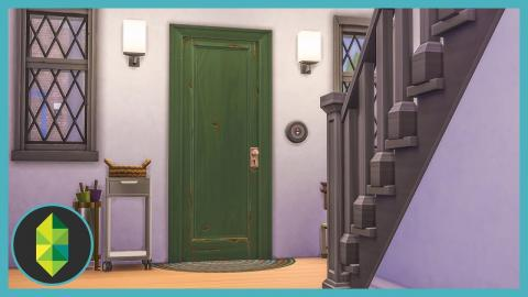 How To Decorate Foyer's & Hallways (Sims 4 Build)