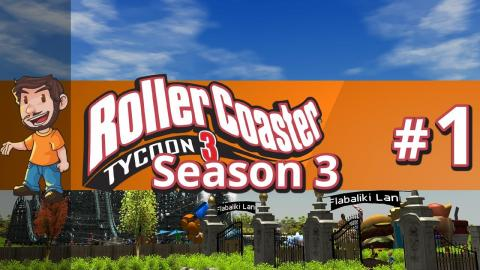 Let's Play Rollercoaster Tycoon 3 - Part 1 Season 3