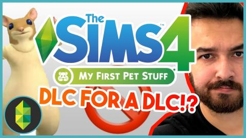 A DLC FOR DLC!? The Sims 4 My First Pet Stuff Thoughts