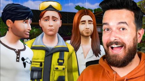 Let's Play The Sims 4 - 3 Brothers (Part 1)