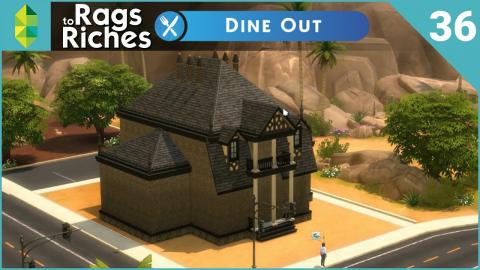 The Sims 4 Dine Out - Rags to Riches - Part 36