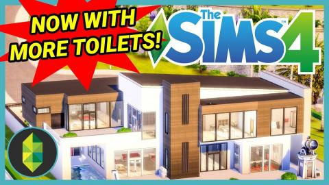 NOW WITH 600% MORE TOILETS - Bailey-Moon Manor Renovation (Sims 4 Build)
