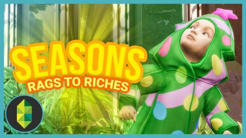 HALLOWEEN - Part 12 - Rags to Riches (Sims 4 Seasons)