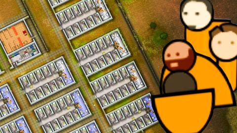Upping capacity to 140! Prison Architect (Part 12)