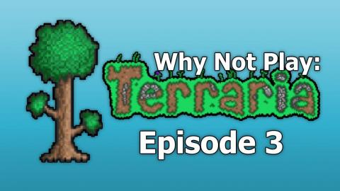 Why Not Play: Terraria EP3